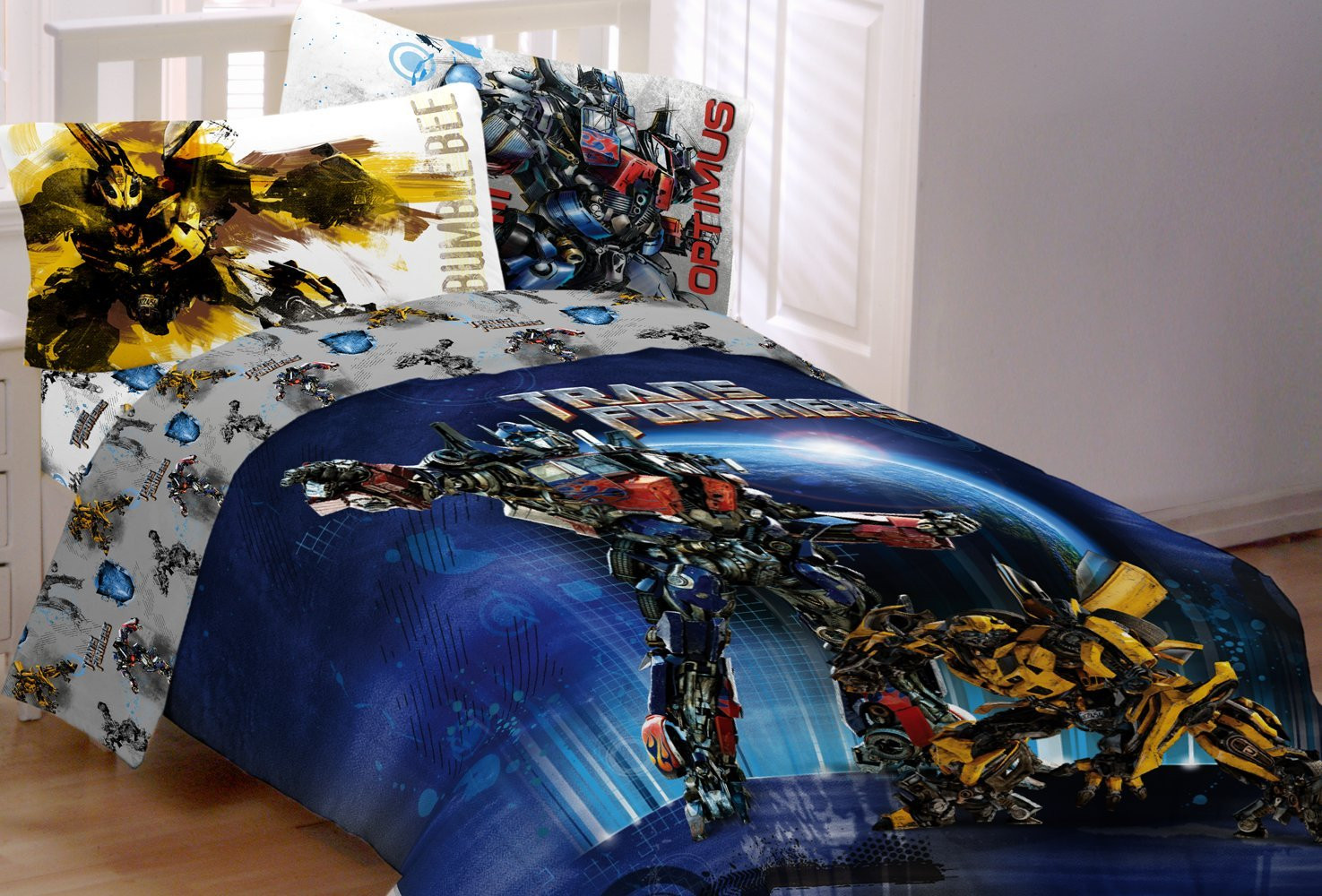 Best ideas about Transformers Bedroom Sets . Save or Pin Transformers boys bedding sets Now.