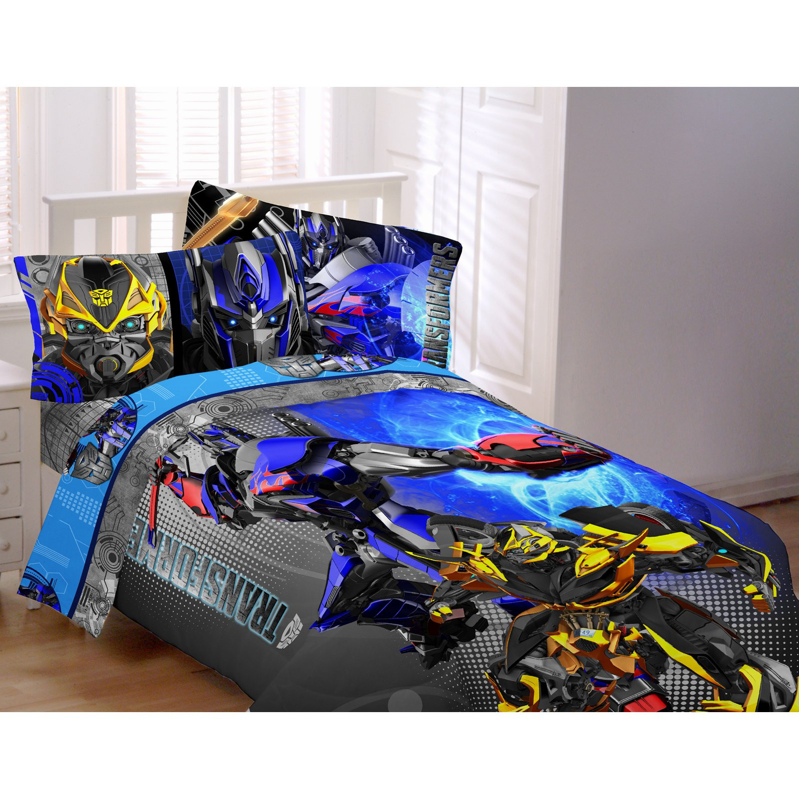 Best ideas about Transformers Bedroom Sets . Save or Pin Transformers 4 Alien Machine Twin Full forter Bedding Now.