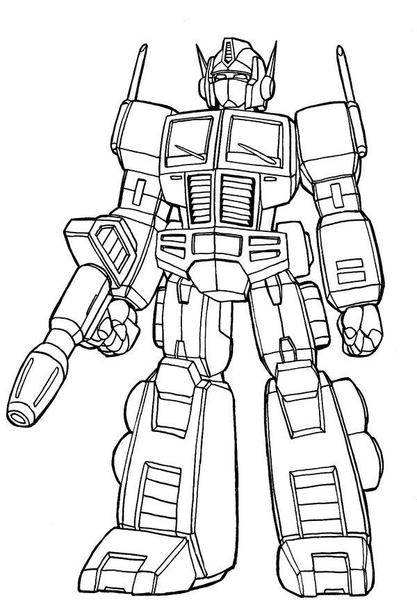 Best ideas about Transformers Free Coloring Pages . Save or Pin Transformer Optimus Prime Coloring Pages Coloring Home Now.