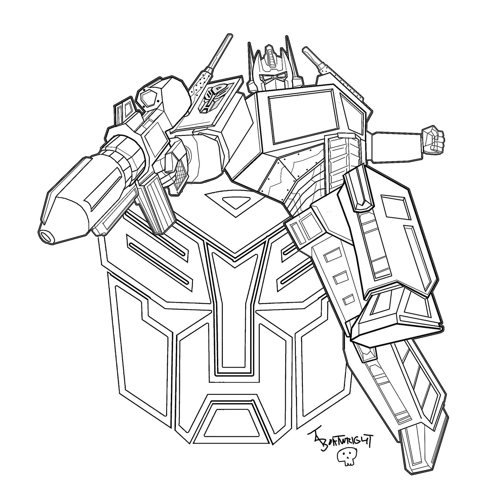 Best ideas about Transformers Free Coloring Pages . Save or Pin Free Printable Transformers Coloring Pages For Kids Now.