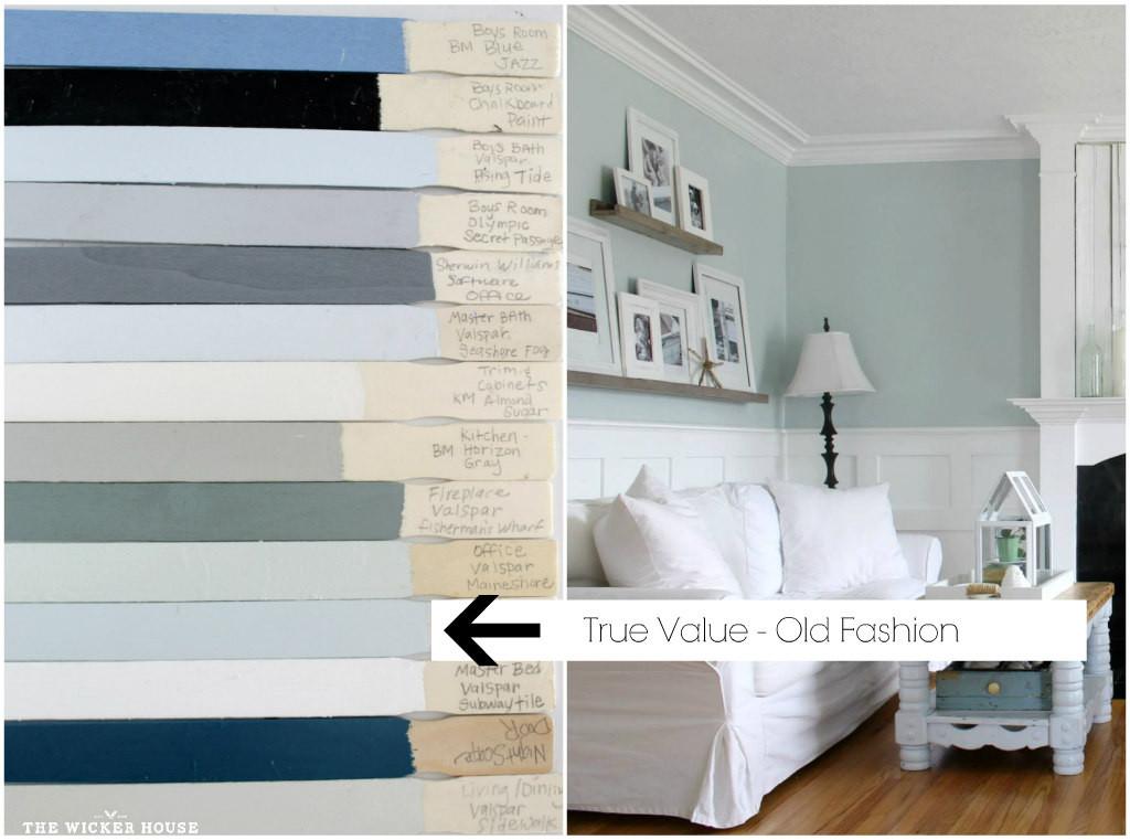 Best ideas about True Value Paint Colors . Save or Pin The Wicker House Paint Colors The Wicker House Now.