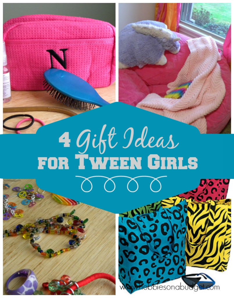 Best ideas about Tween Gift Ideas Girls . Save or Pin 4 Gift Ideas for Tween Girls Hobbies on a Bud Now.