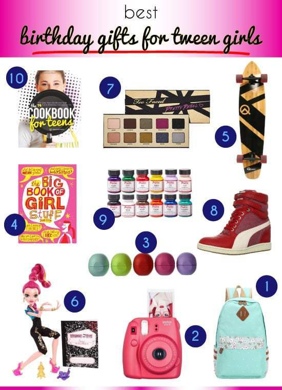 Best ideas about Tween Gift Ideas Girls . Save or Pin Best Birthday Gift Ideas for Tweens Vivid s Now.
