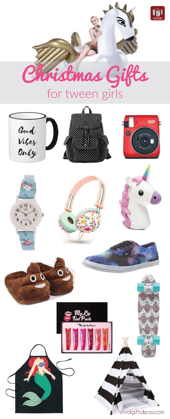 Best ideas about Tween Gift Ideas Girls . Save or Pin Christmas Holiday Guide Shopping for Tween Girls Vivid Now.