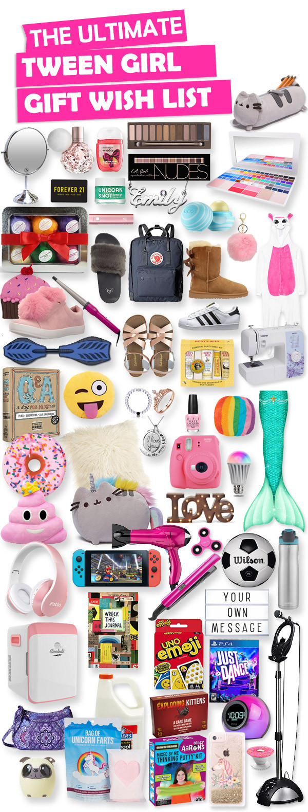 Best ideas about Tween Gift Ideas Girls . Save or Pin Gifts For Tween Girls Now.