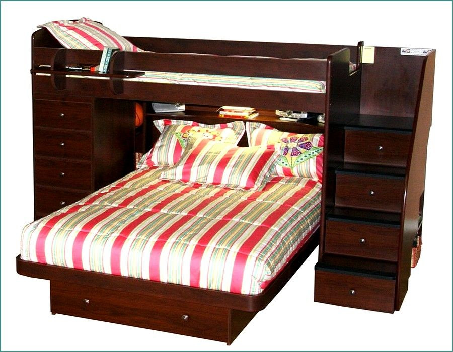 Best ideas about Twin Over Twin Bunk Bed With Stairs . Save or Pin Ideas Twin Over Queen Bunk Beds With Staircase And Storage Now.