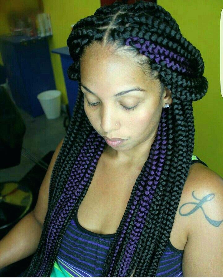 Best ideas about Two Braids Hairstyles With Weave . Save or Pin Braided Hairstyles With Weave HairStyles Now.