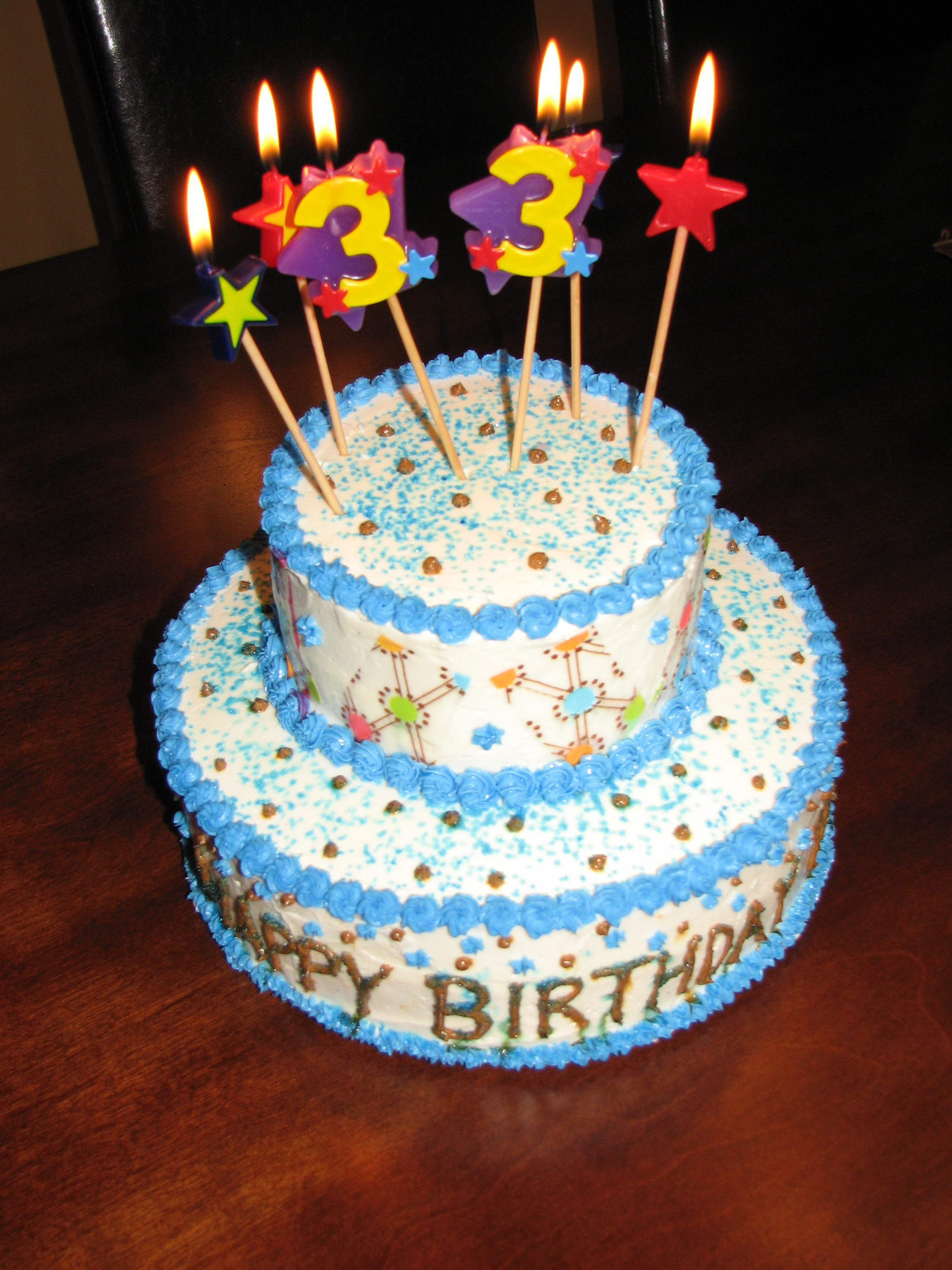 Best ideas about Two Tiered Birthday Cake . Save or Pin 2 Tier Birthday Cake Now.