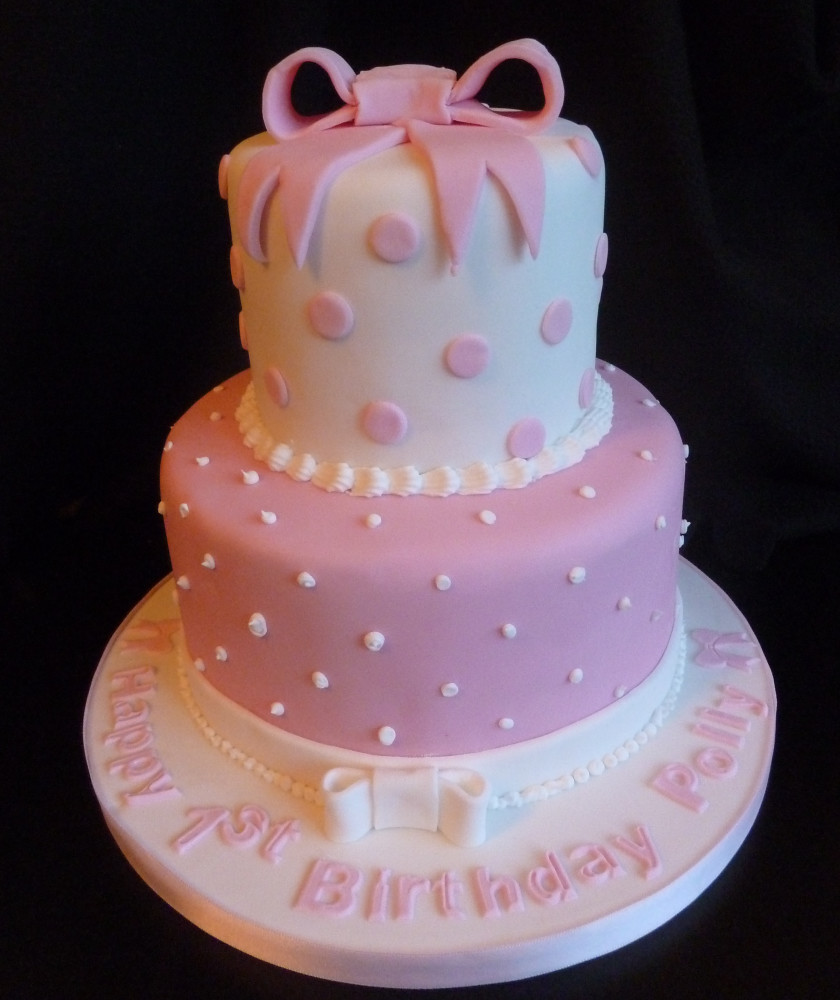 Best ideas about Two Tiered Birthday Cake . Save or Pin Birthday Cakes Archives Page 3 of 24 Wedding Now.