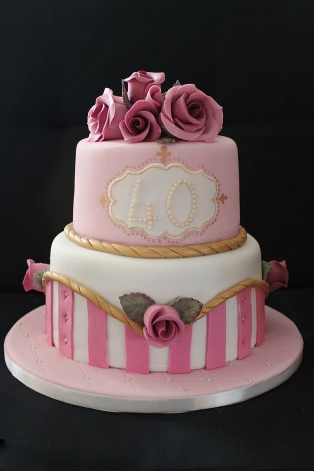 Best ideas about Two Tiered Birthday Cake . Save or Pin 1000 images about SweetDreams Bakery Cakes on Pinterest Now.