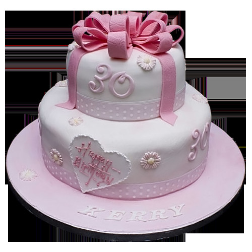 Best ideas about Two Tiered Birthday Cake . Save or Pin Tier Birthday Cakes with Unique Designs Now.