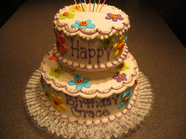 Best ideas about Two Tiered Birthday Cake . Save or Pin Tiered Birthday Cakes Taylor s Bakery Now.