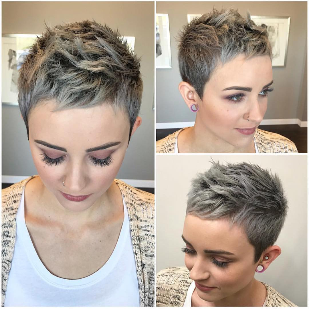 Best ideas about Undercut Pixie Hairstyles . Save or Pin 10 Stylish Pixie Haircuts Women Short Undercut Now.