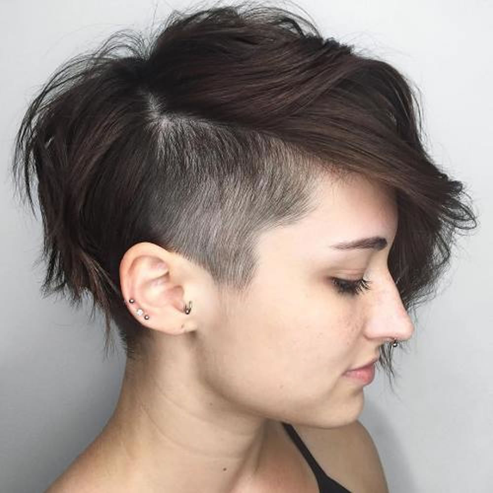 Best ideas about Undercut Pixie Hairstyles . Save or Pin Undercut Short Pixie Hairstyles for La s 2018 2019 Now.