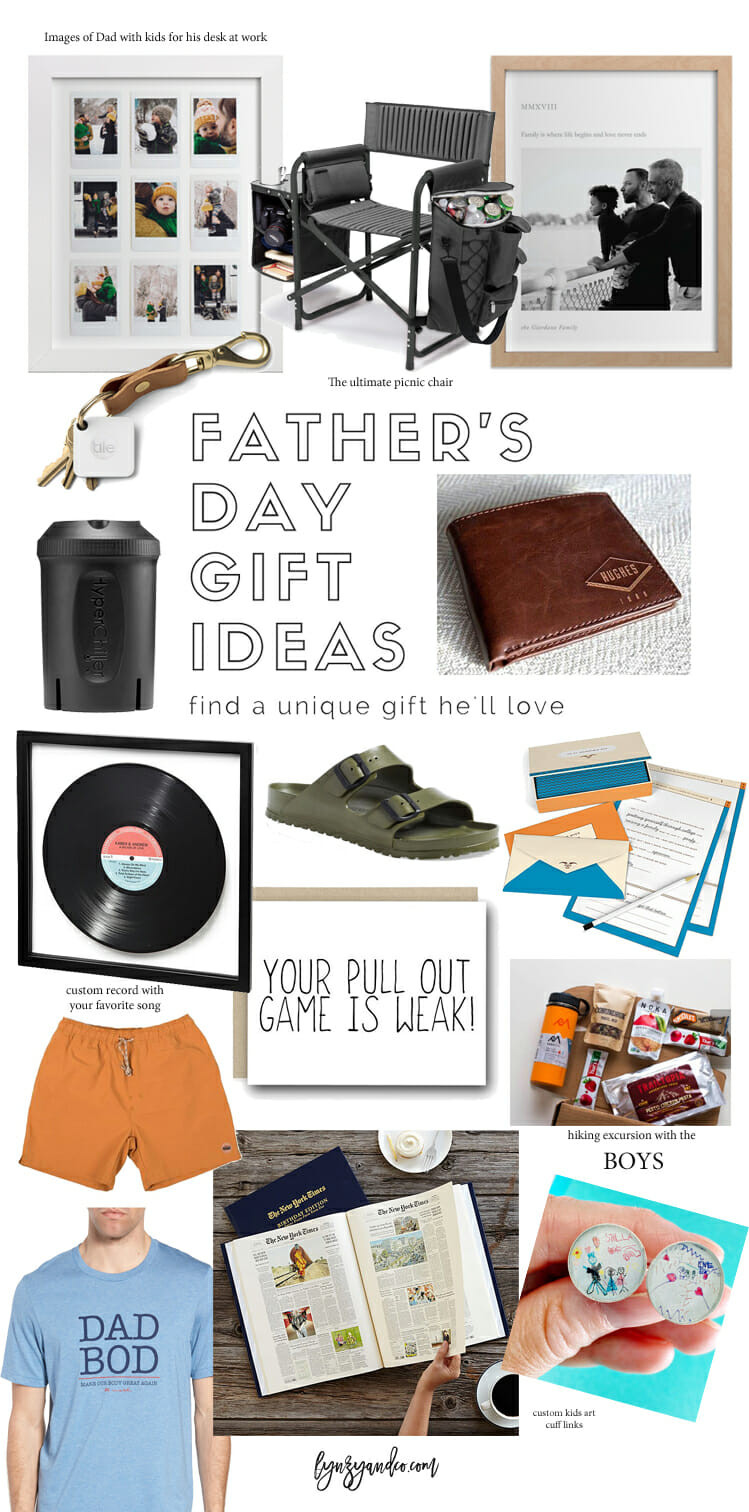 Best ideas about Unique Fathers Day Gift Ideas . Save or Pin Unique Father s Day Gift Ideas He ll Love Lynzy & Co Now.