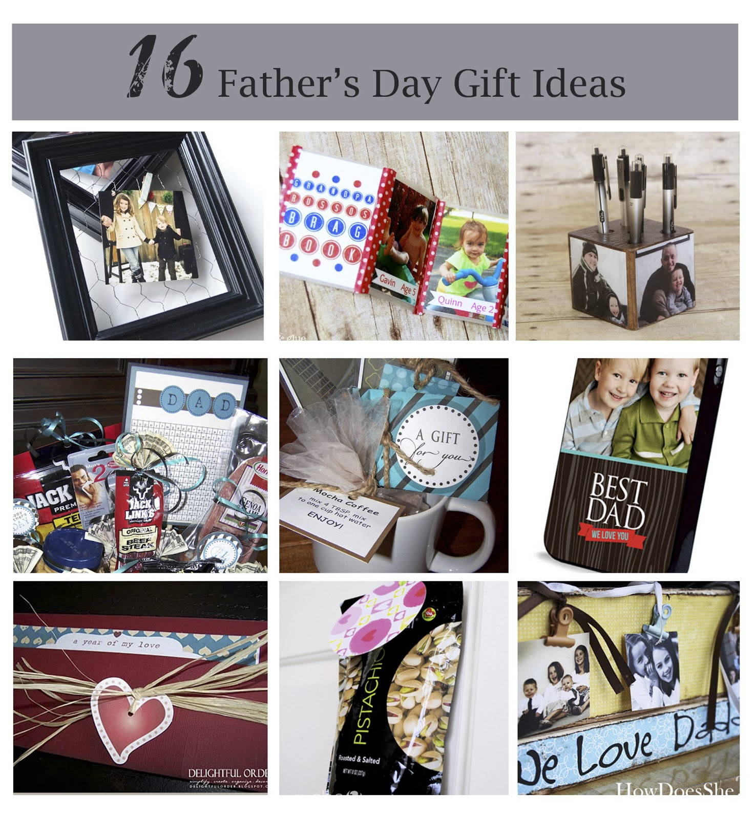 Best ideas about Unique Fathers Day Gift Ideas . Save or Pin 20 Best Father s Day Gift Ideas Now.
