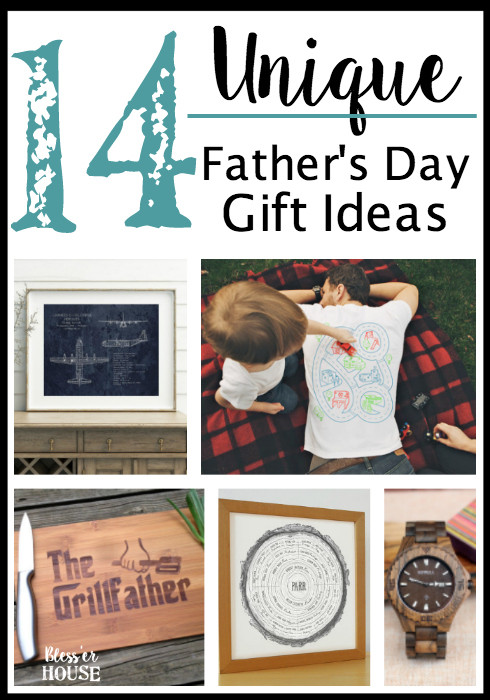 Best ideas about Unique Fathers Day Gift Ideas . Save or Pin 14 Unique Father s Day Gift Ideas Bless er House Now.