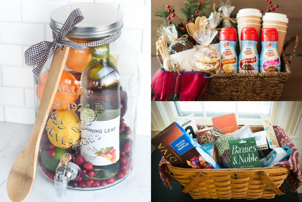 Best ideas about Unique Gift Baskets Ideas . Save or Pin 20 Unique DIY Gift Baskets That Are Super Easy To Make Now.