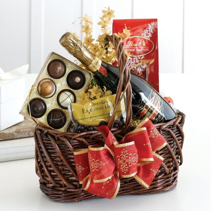 Best ideas about Unique Gift Baskets Ideas . Save or Pin Christmas Gift Baskets Ideas Now.
