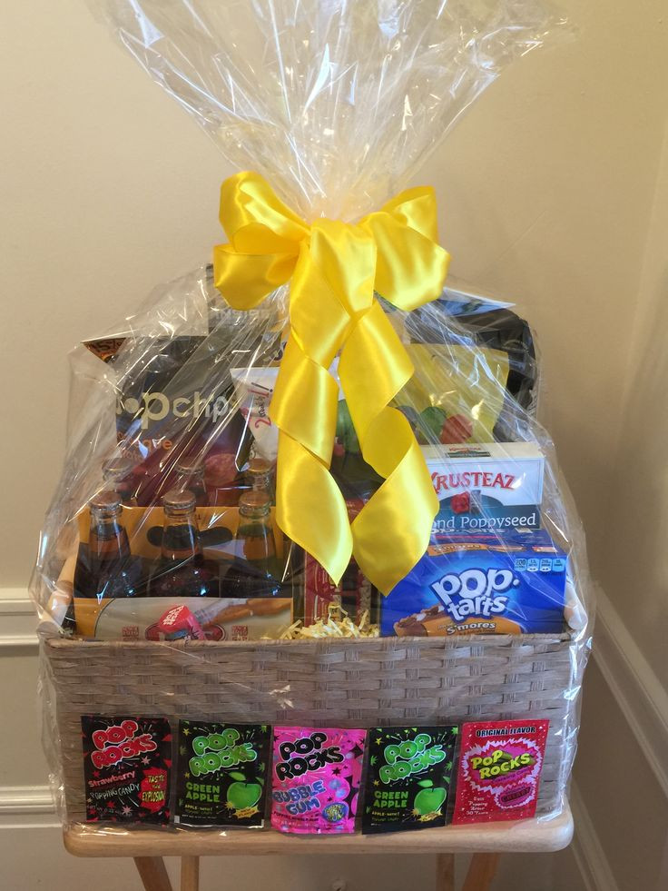 Best ideas about Unique Gift Baskets Ideas . Save or Pin Elementary School Silent Auction basket Now.