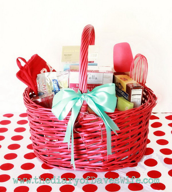 Best ideas about Unique Gift Baskets Ideas . Save or Pin 35 Creative DIY Gift Basket Ideas for This Holiday Hative Now.