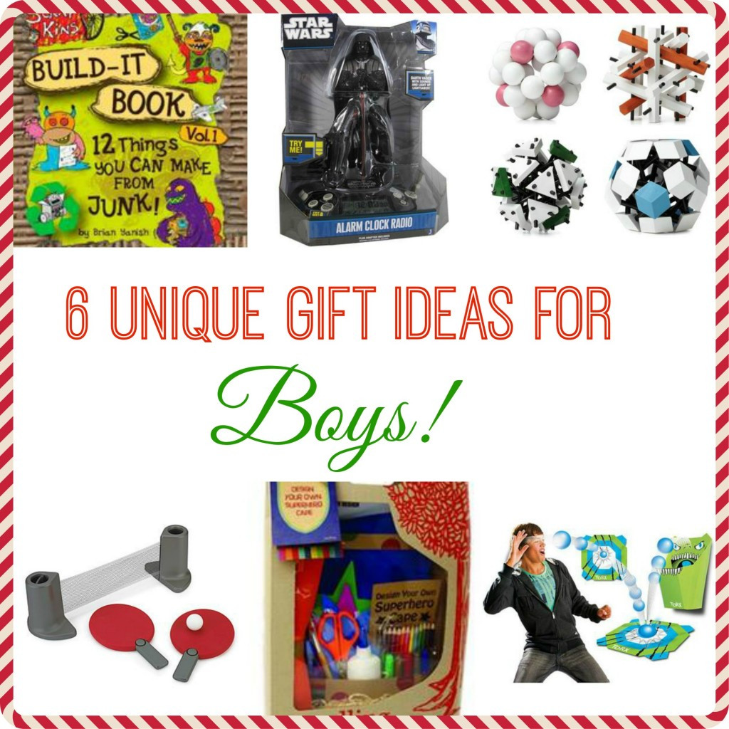 Best ideas about Unique Gift Ideas For Boys . Save or Pin 6 Unique Gift Ideas for Boys Now.