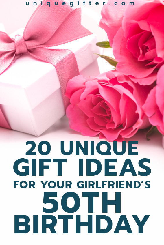 Best ideas about Unique Gift Ideas For Girlfriend . Save or Pin Gift Ideas for your Girlfriend s 50th Birthday Now.
