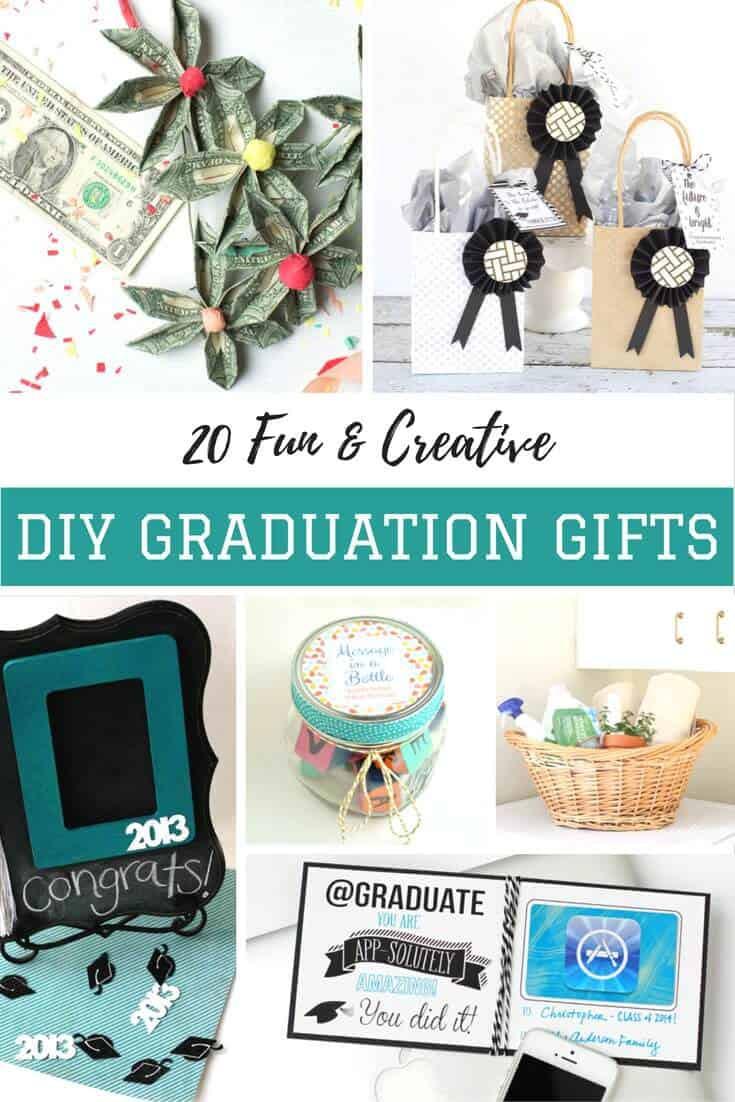 Best ideas about Unique Graduation Gift Ideas . Save or Pin 20 Unique Ideas for a DIY Graduation Gift DIY Candy Now.