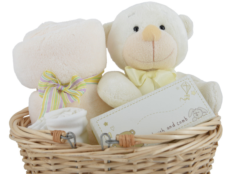 Best ideas about Unisex Baby Gift Ideas . Save or Pin Baby s Neutral Gorgeous Gift Basket Now.