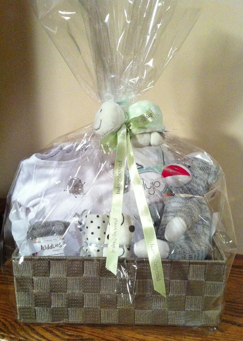Best ideas about Unisex Baby Gift Ideas . Save or Pin Uni Baby Gift Basket Now.