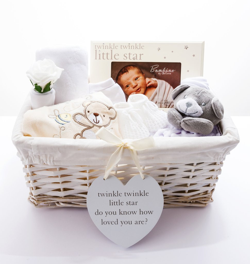 Best ideas about Unisex Baby Gift Ideas . Save or Pin Neutral Baby Hampers Baby Shower Gift Ideas Now.