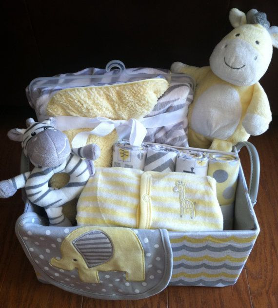Best ideas about Unisex Baby Gift Ideas . Save or Pin 105 best New Baby Gift Ideas images on Pinterest Now.