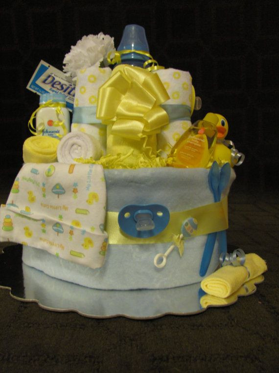Best ideas about Unisex Baby Gift Ideas . Save or Pin Bath Time Diaper Cake uni Baby shower by Now.