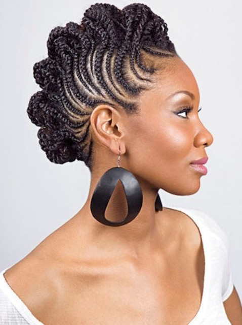 Best ideas about Updos African American Hairstyles . Save or Pin Latest Hairstyles for Women – CircleTrest Now.