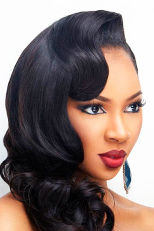 Best ideas about Updos African American Hairstyles . Save or Pin Wedding Hairstyles for Black Women african american Now.