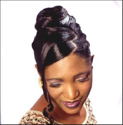 Best ideas about Updos African American Hairstyles . Save or Pin Fashion Clothes Trendy American Hairstyle Updos African Now.