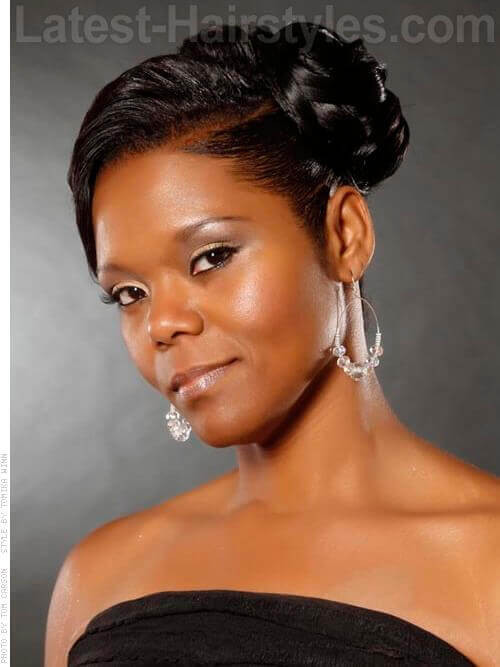 Best ideas about Updos African American Hairstyles . Save or Pin 11 African American Wedding Hairstyles Now.