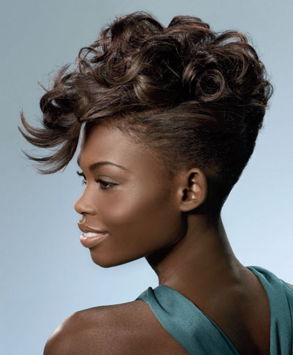 Best ideas about Updos African American Hairstyles . Save or Pin All Fashion Show Trendy American Hairstyle Updos African Now.