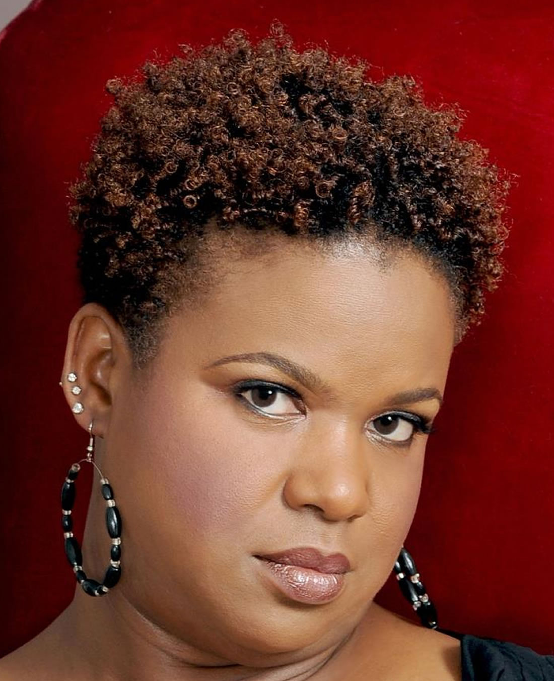 Best ideas about Updos African American Hairstyles . Save or Pin Short African American Hairstyles for Round Faces 2018 Now.