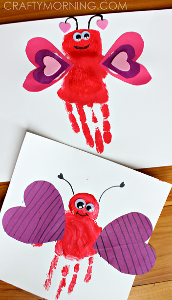 Best ideas about Valentine Arts And Crafts For Preschoolers . Save or Pin List of Easy Valentine s Day Crafts for Kids Crafty Morning Now.