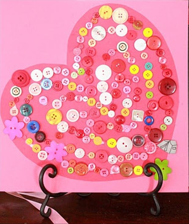 Best ideas about Valentine Arts And Crafts For Preschoolers . Save or Pin Do It Yourself Valentine s Day Crafts 32 Pics Now.