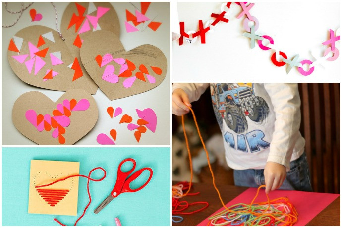 Best ideas about Valentine Arts And Crafts For Preschoolers . Save or Pin 11 easy Valentine s Day crafts for preschoolers young kids Now.