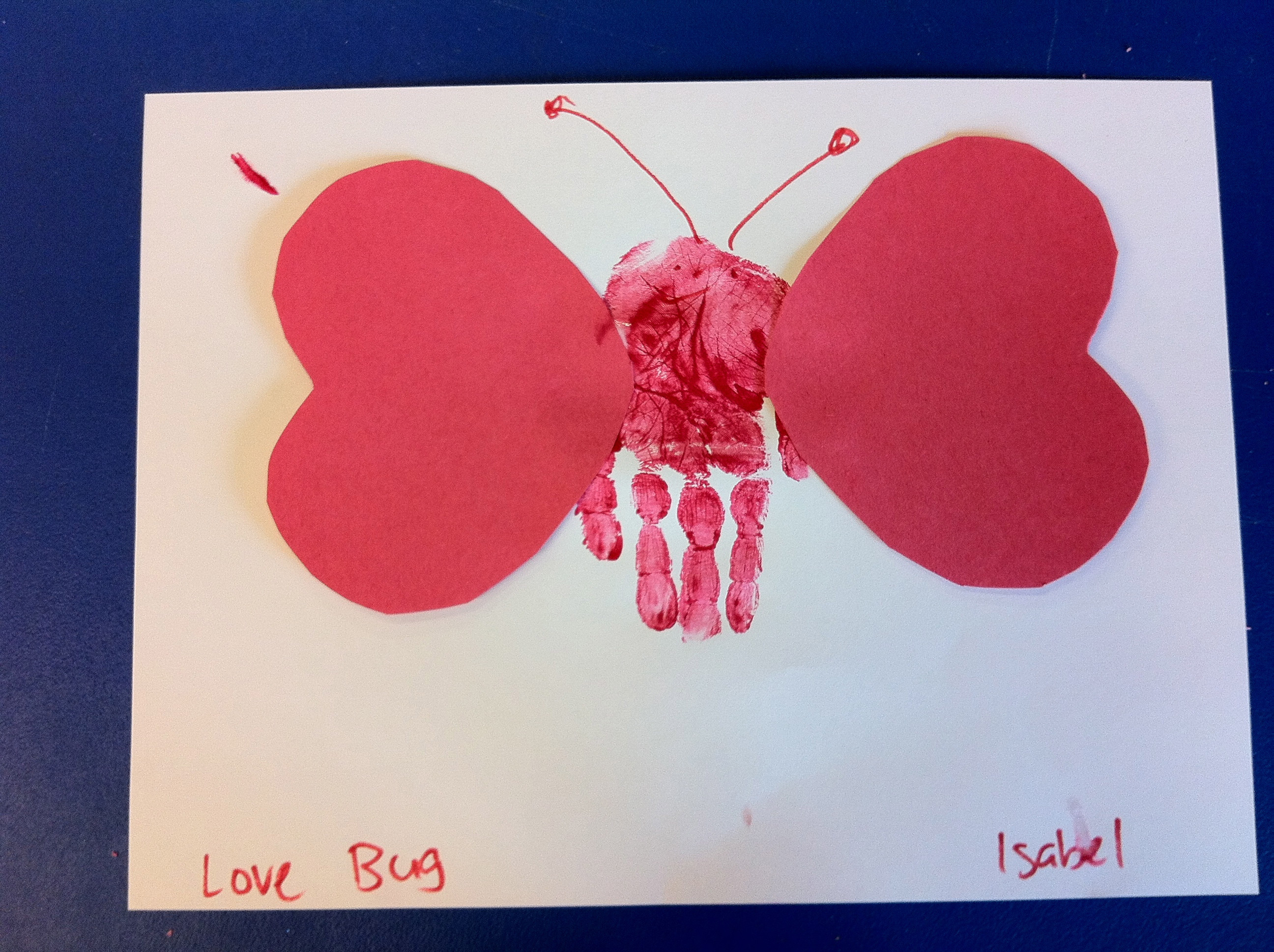 Best ideas about Valentine Day Craft Ideas For Preschoolers . Save or Pin Preschool Crafts for Kids Valentine s Day Hand Print Now.