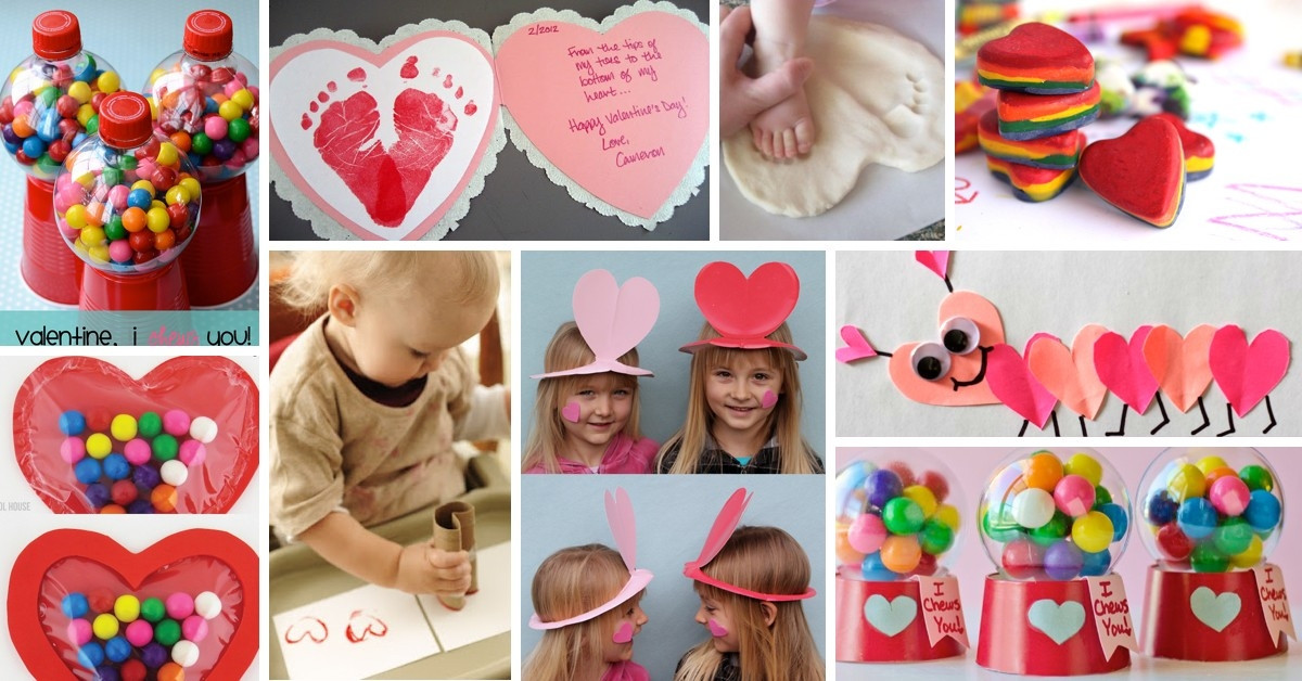 Best ideas about Valentine Day Craft Ideas For Preschoolers . Save or Pin Kids Valentines Craft Ideas Now.