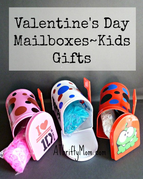 Best ideas about Valentine Gift Ideas For Mom . Save or Pin Valentine s Day Mailboxes Kids Gifts A Thrifty Mom Now.