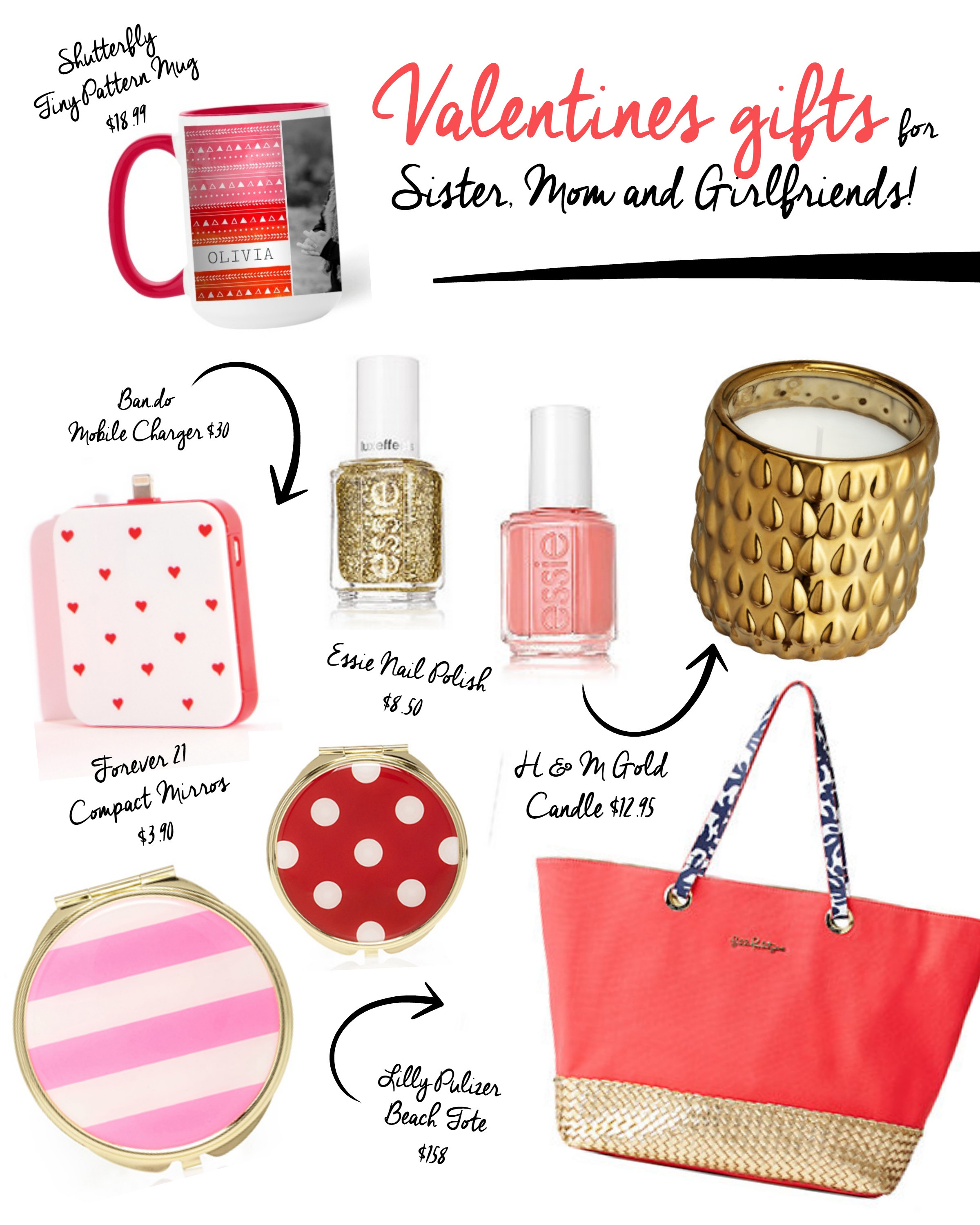 Best ideas about Valentine Gift Ideas For Mom . Save or Pin Valentine s Day Gifts for Sister Mom and Friends Craft Now.