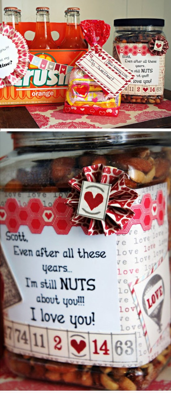 Best ideas about Valentine Gift Ideas For New Boyfriend . Save or Pin 30 DIY Valentine Gifts for Your Boyfriend 2018 Now.