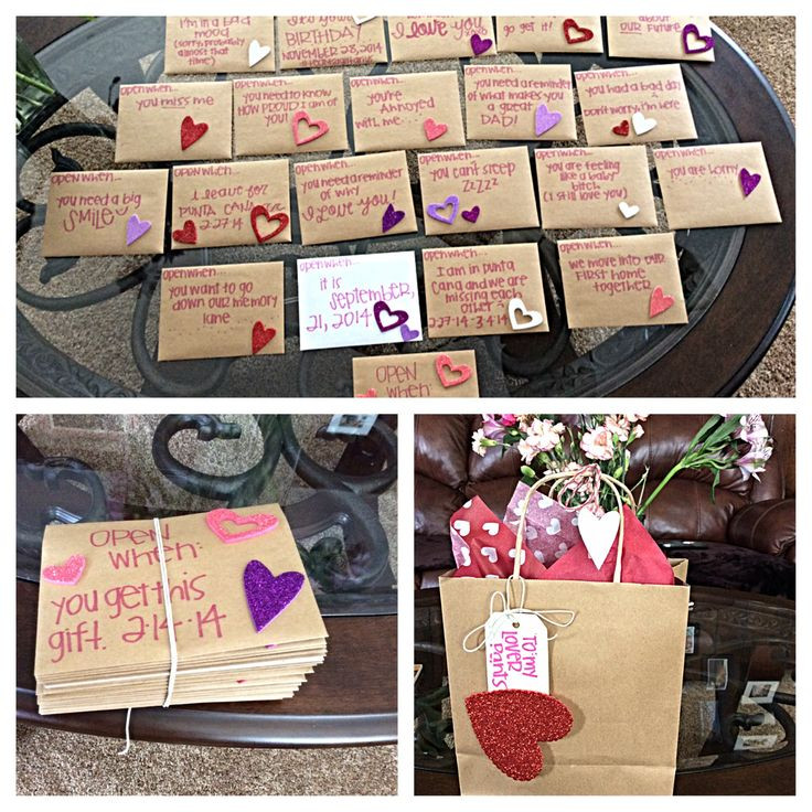 Best ideas about Valentine Gift Ideas For New Boyfriend . Save or Pin Valentines for him Open when love letters Now.