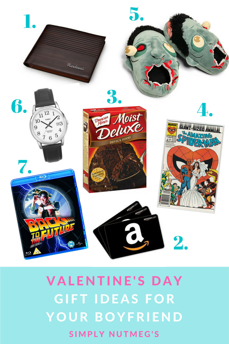Best ideas about Valentine'S Day Gift Ideas For Your Boyfriend . Save or Pin Simply Nutmeg s Now.