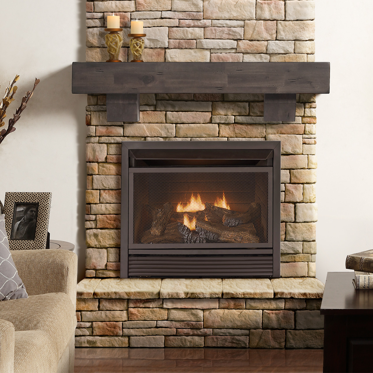 Best ideas about Vent Free Gas Fireplace Insert . Save or Pin 26K BTU Dual Fuel Vent Free Gas Firebox Insert Fireplaces Now.